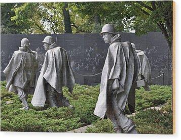 Korean War Memorial 3 Wood Print