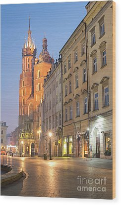 Wood Print featuring the photograph Krakow by Juli Scalzi