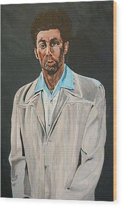 Kramer After Unknown Artist Wood Print by Betty-Anne McDonald