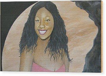 Kristy Aphrodite Of Venus Wood Print