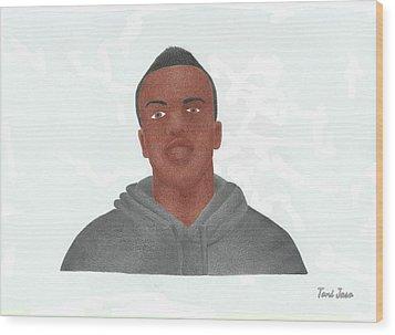 KSI Wood Print