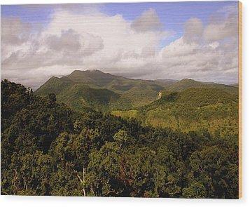 Kuranda Queensland Wood Print