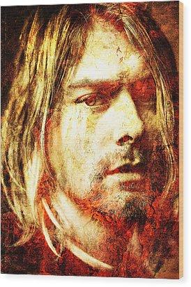 Kurt Wood Print by J- J- Espinoza