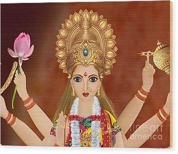 Kushmanda Wood Print