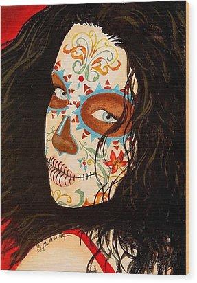 La Belleza En El Viento Wood Print