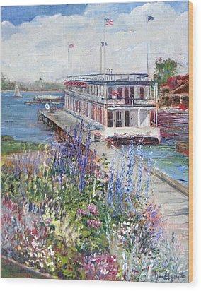 La Duchesse Wood Print