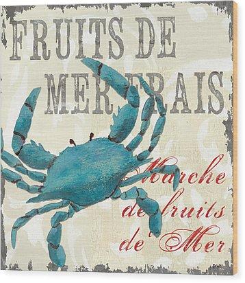 La Mer Shellfish 1 Wood Print