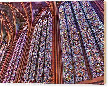 La Sainte-chapelle Wood Print