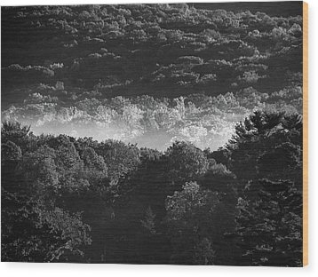 La Vallee Des Fees Wood Print by Steven Huszar