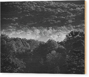 La Vallee Des Fees Wood Print