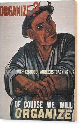 Labor: Poster, 1930s Wood Print by Granger