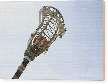 Lacrosse 2 Wood Print