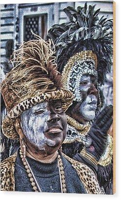Ladies Of Zulu 2008 Wood Print by Jerome Holmes