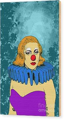 Lady Gaga 1 Wood Print