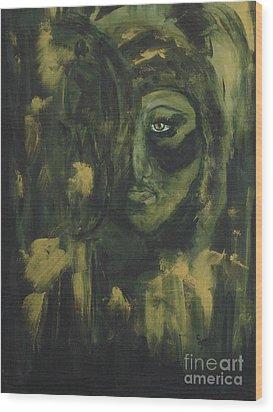 Lady Ivy Wood Print