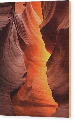 Wood Print featuring the photograph Lady Of The Flame by Darren White