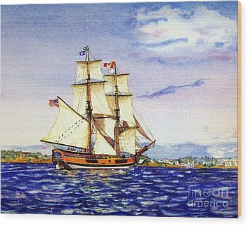 Lady Washington Wood Print