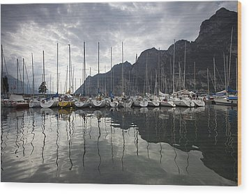 Lago Di Garda Wood Print by Andre Goncalves