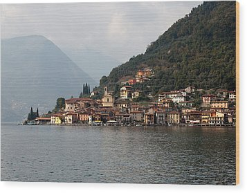 Lago D'iseo Wood Print by Andre Goncalves