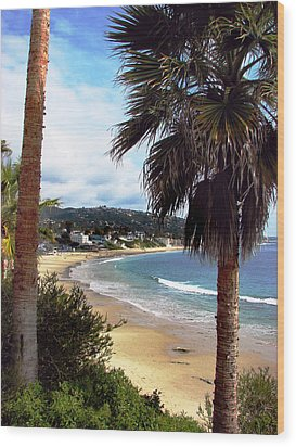 Wood Print featuring the photograph Laguna Beach 2 by Joanne Coyle