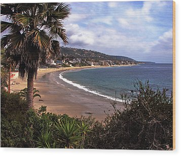 Wood Print featuring the photograph Laguna Beach by Joanne Coyle