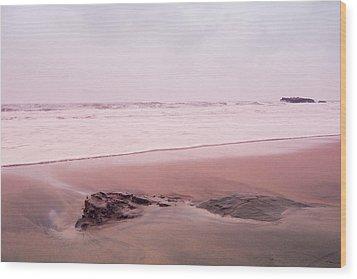 Wood Print featuring the photograph Laguna Shores Memories by Heidi Hermes