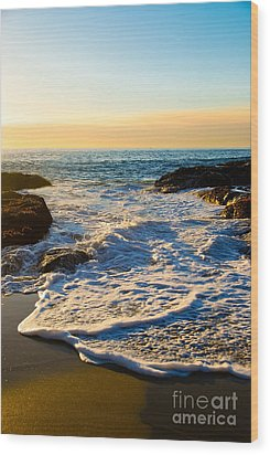 Laguna Sunset Wood Print