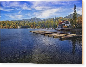 Lake Arrowhead California Wood Print