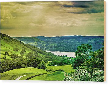 Wood Print featuring the photograph Lake District 6 by Wallaroo Images