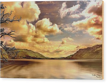Wood Print featuring the photograph Lake District Uk by Wallaroo Images