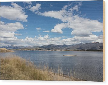 Lake Granby -- The Third-largest Body Of Water In Colorado Wood Print by Carol M Highsmith