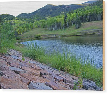 Wood Print featuring the photograph Lake Isabel Colorado by Tammy Sutherland
