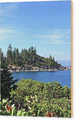 Lake Tahoe No. 17 Wood Print
