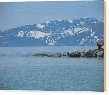 Wood Print featuring the photograph Lake Tahoe by Dan Whittemore