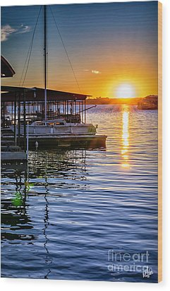 Wood Print featuring the photograph Lake Travis by Walt Foegelle