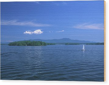 Lake Winnipesaukee Summer Day Wood Print