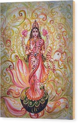 Lakshmi Darshanam Wood Print