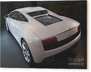 Lamborghini Gallardo Lp550-2 Wood Print