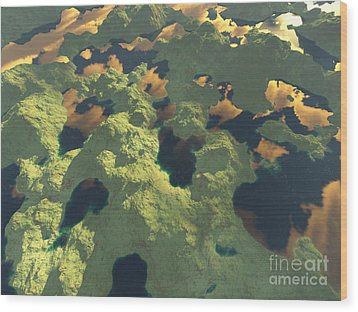 Land Of A Thousand Lakes II Wood Print by Gaspar Avila