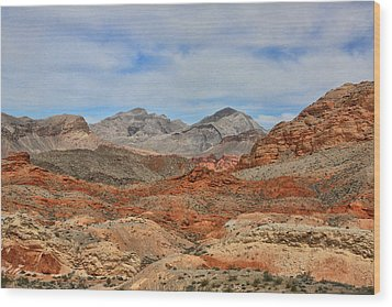 Wood Print featuring the photograph Land Of Fire by Tammy Espino