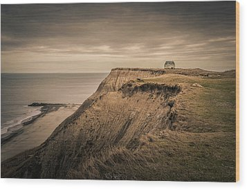 Wood Print featuring the photograph Land's End by Odd Jeppesen
