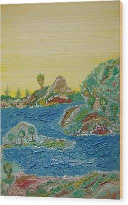 Landscape. Fantasy 28. Wood Print