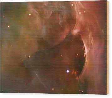 Landscape Orion Nebula Wood Print by Jennifer Rondinelli Reilly - Fine Art Photography