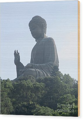 Wood Print featuring the photograph Lantau Island 50 by Randall Weidner