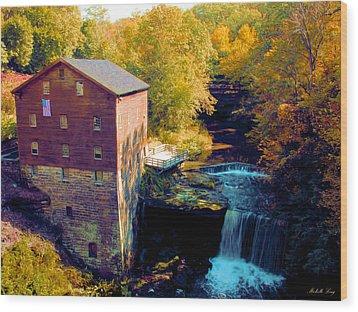Lanterman's Mill Wood Print