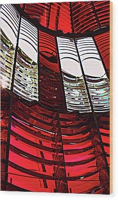 Lantern Room Wood Print by Kami McKeon