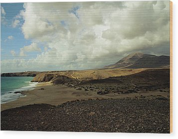 Lanzarote Wood Print by Cambion Art