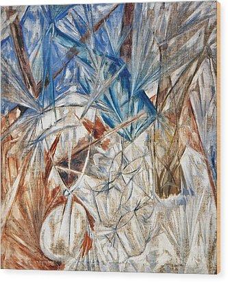 Larionov: Glass, 1912 Wood Print by Granger