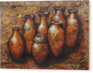 Las Copuchas Wood Print by J- J- Espinoza