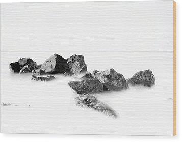 Las Rocas Wood Print